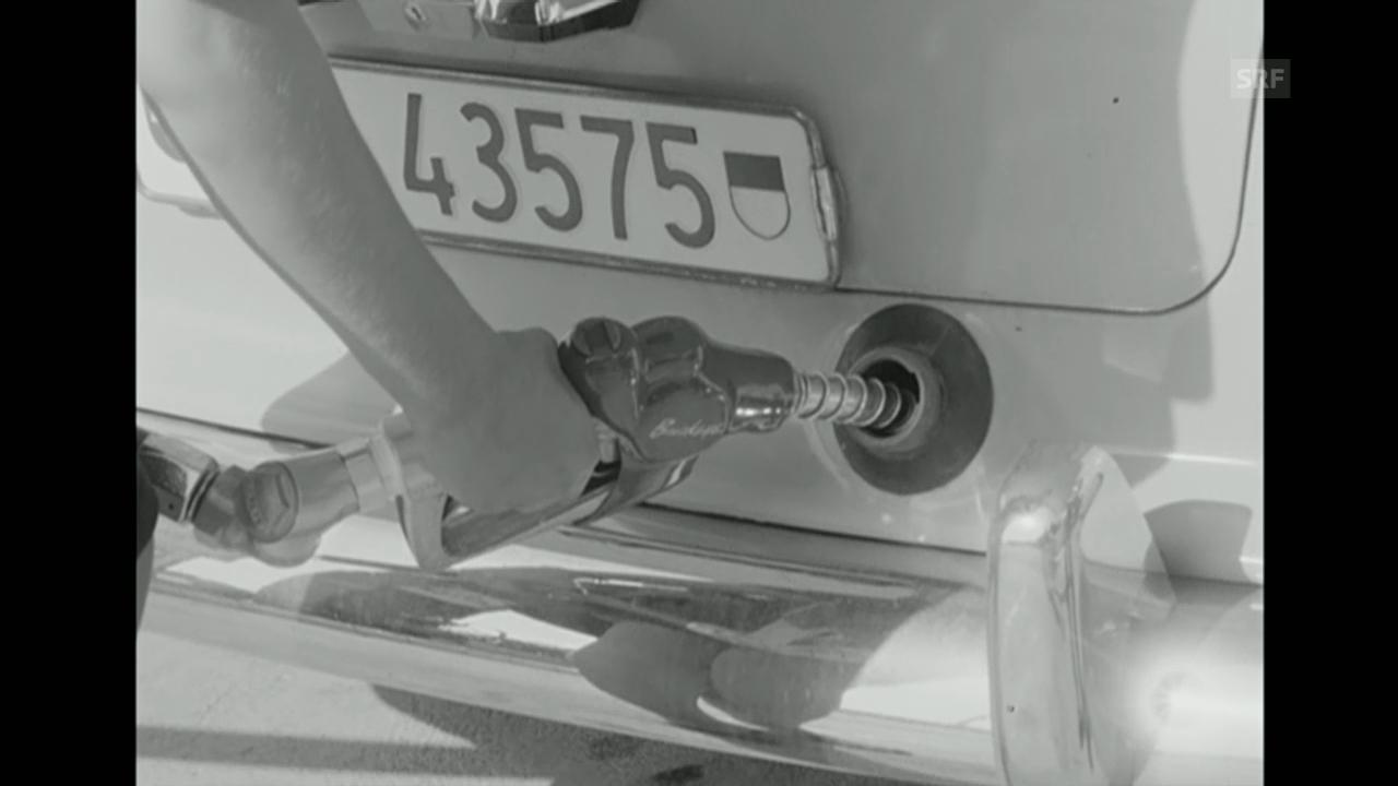 «Erste Autobahntankstelle» aus: Antenne, 17.8.1967