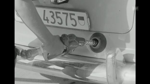 Video ««Erste Autobahntankstelle» aus: Antenne, 17.8.1967» abspielen