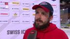 Video «Eishockey: Liga-Qualifikation, Stimmen zu Spiel 6» abspielen