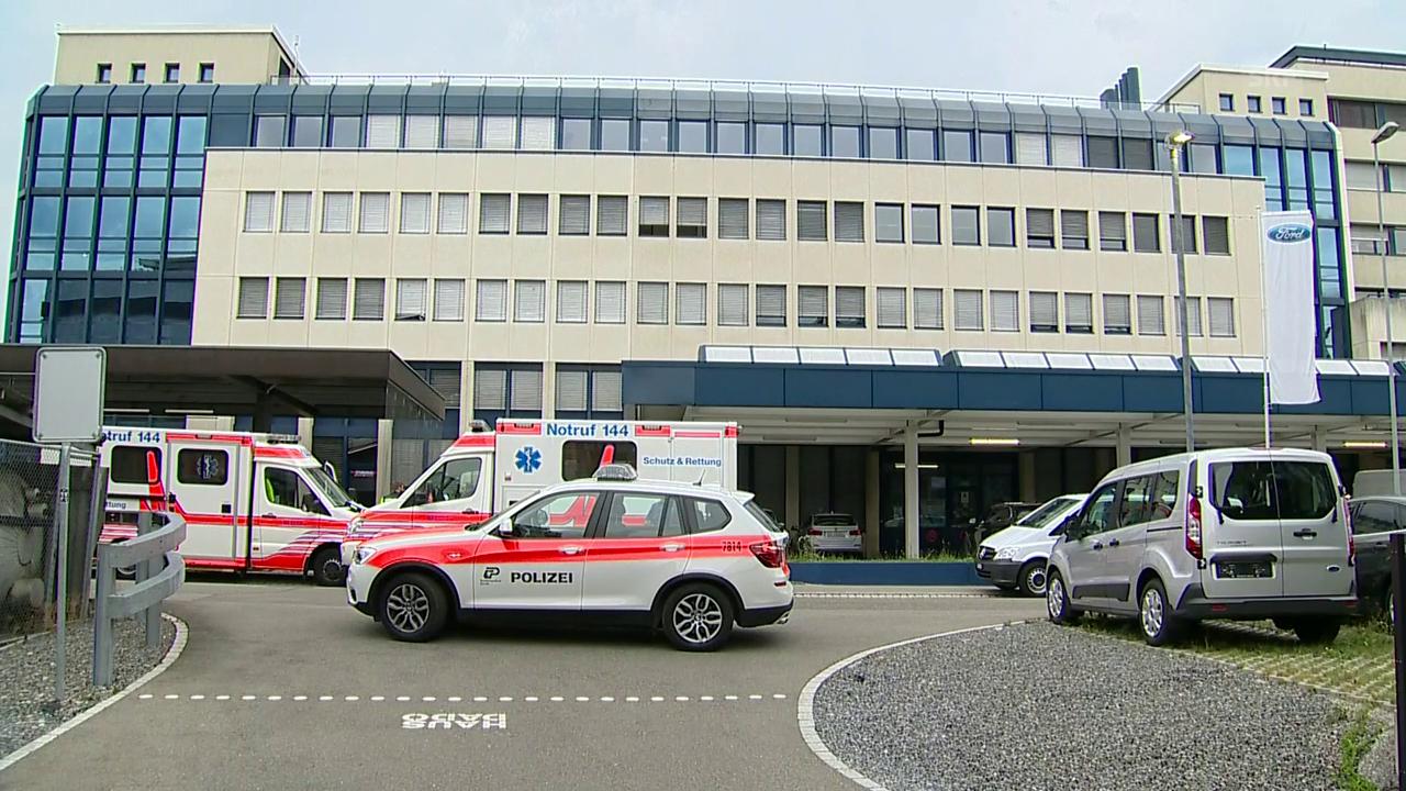 Polizeieinsatz in Dübendorf