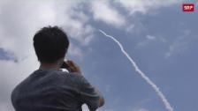 Link öffnet eine Lightbox. Video Japan schiesst Satellit ins All abspielen