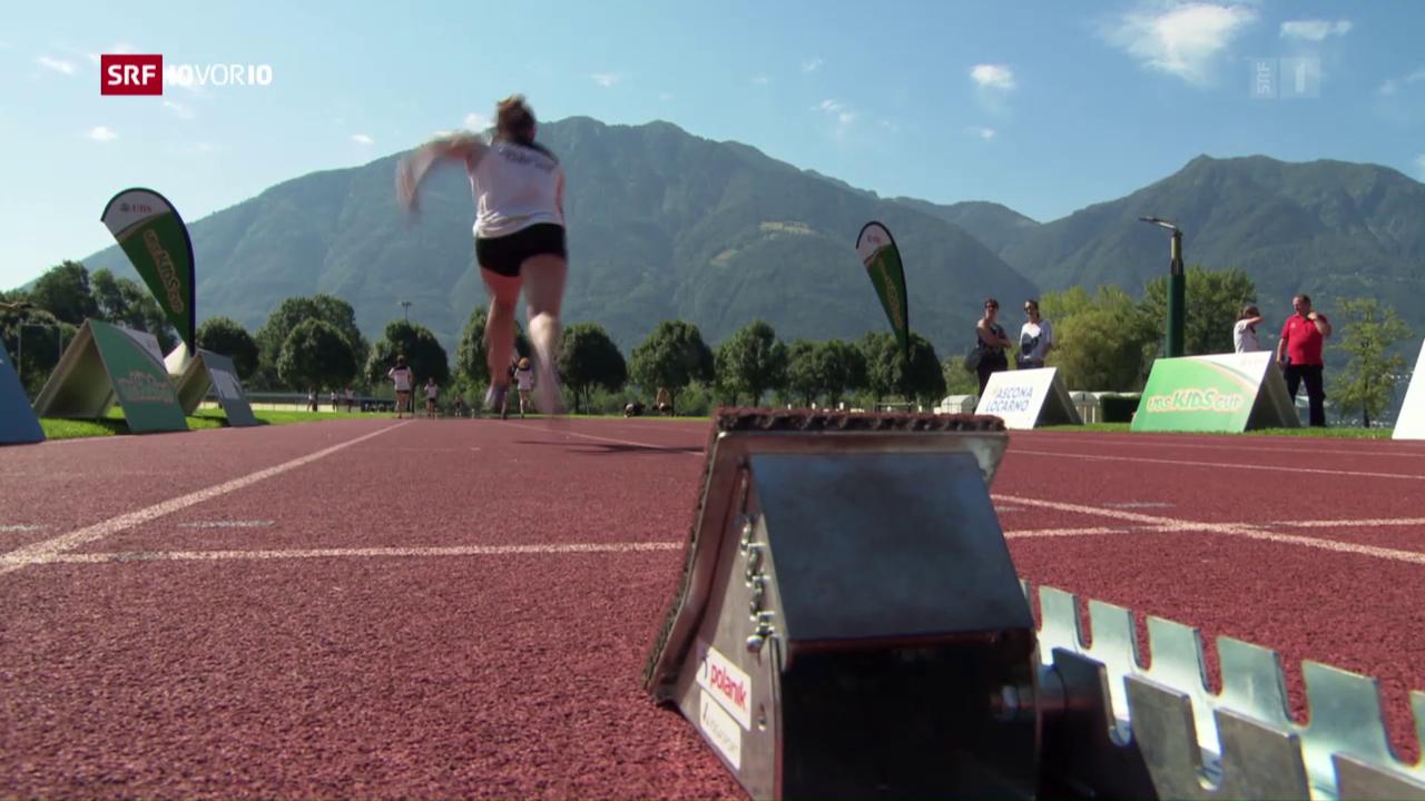 Leichtathletik bei den Mädchen hoch im Kurs