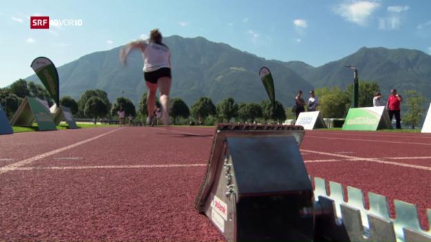 Video «Leichtathletik bei den Mädchen hoch im Kurs» abspielen