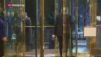 Video «Trumps Kabinett nimmt Formen an» abspielen