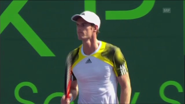 Tennis: Die Matchbälle von Murray, Tsonga und Berdych
