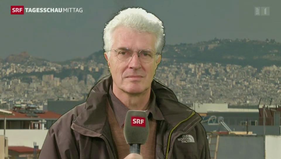 SRF-Korrespondent Werner van Gent zu den Protesten in der Türkei