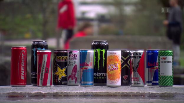 Video «Energydrinks im Test: Diese Resultate stossen sauer auf» abspielen