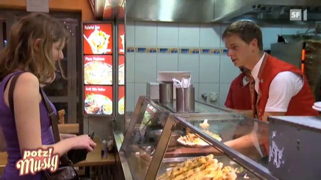 Sennsationell: Im Kebab-Laden in Zürich