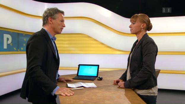 Video «Studiogespräch mit Charlotte Sieber vom WTI» abspielen