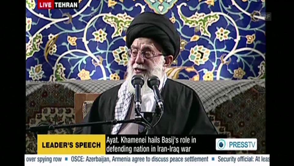 Chamenei: «Ich bestehe auf den nuklearen Rechten des Irans»