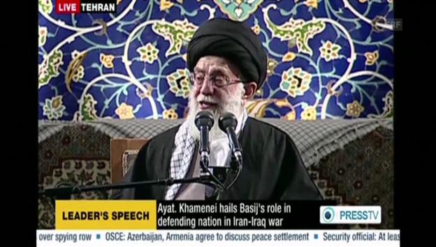 Video «Chamenei: «Ich bestehe auf den nuklearen Rechten des Irans»» abspielen