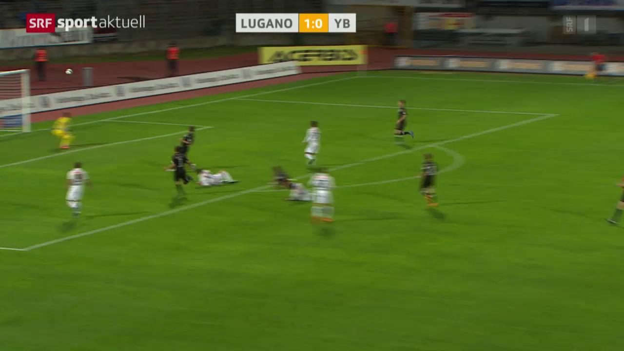 Fussball: SL, Lugano - YB