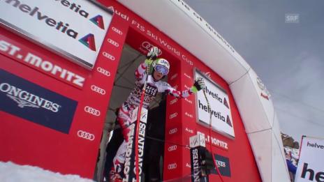 Video «Neue Weltcup-Siegerin: Mirjam Puchner» abspielen
