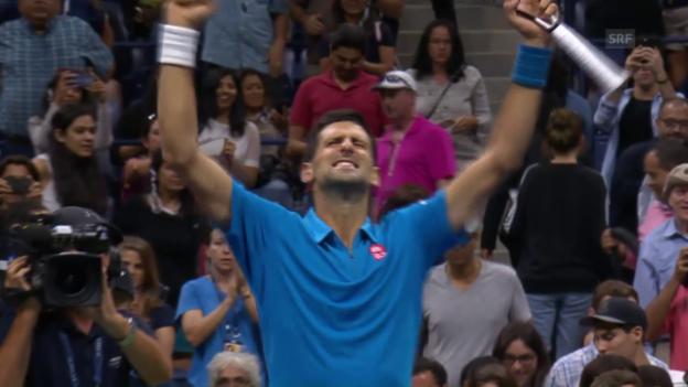 Video «Djokovic gibt sich keine Blösse» abspielen