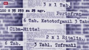 Video «Medikamententests werden untersucht» abspielen