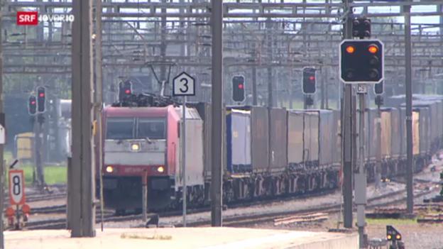 Video «Gefährliche Fahrten auf dem Schienen-Netz» abspielen