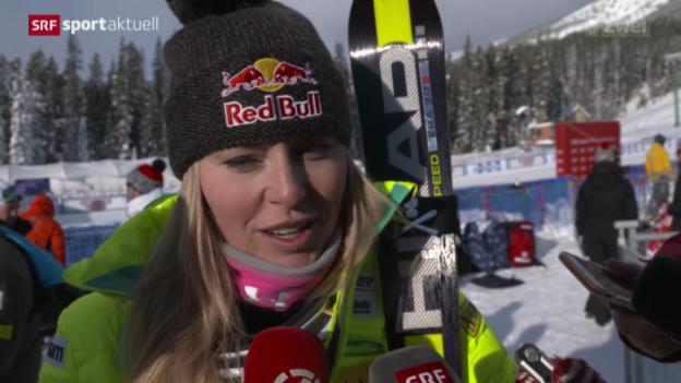 Video «Ski Alpin: Lindsey Vonn gibt Comeback» abspielen