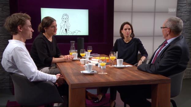 Video «Die Welt verbessern, aber wie? Der philosophische Stammtisch» abspielen