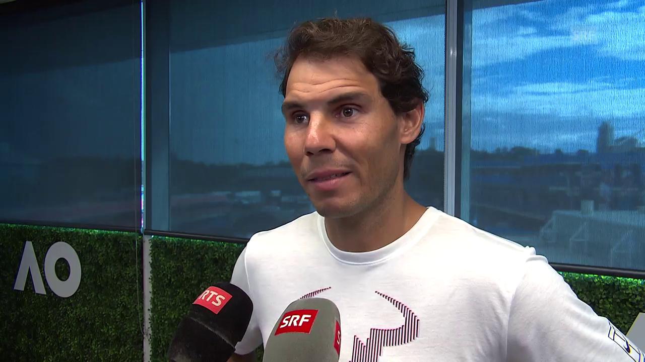 Nadal: «Ich hoffe, bereit zu sein»