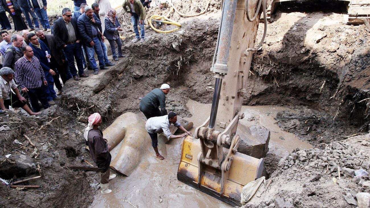 Ausgrabungen in Kairo
