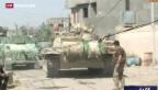 Video «Neue Erfolge im Kampf gegen den IS im Irak» abspielen