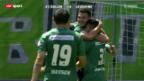 Video «Super League: St. Gallen - Lausanne» abspielen