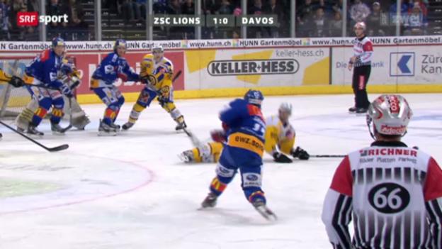 Video «Eishockey: ZSC Lions - HC Davos» abspielen