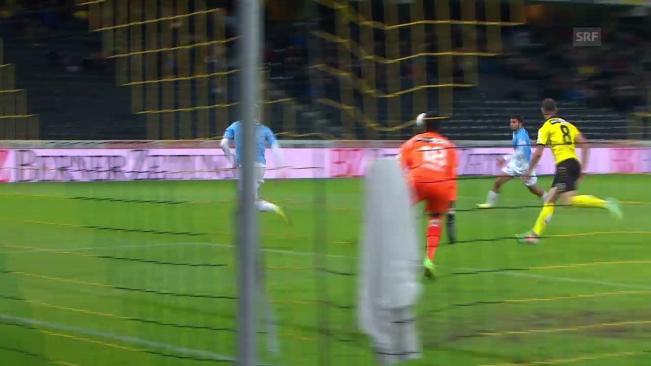Fussball: Super League, Zusammenfassung YB - Aarau
