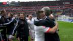 Video «Fussball: Bayern vorzeitig Meister» abspielen