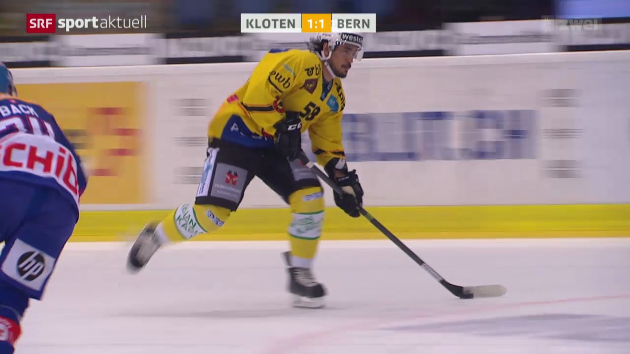 Eishockey: NLA, Kloten - Bern
