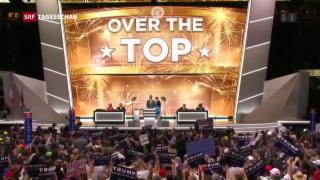 Video «Trump ist offizieller Präsidentschaftskandidat» abspielen