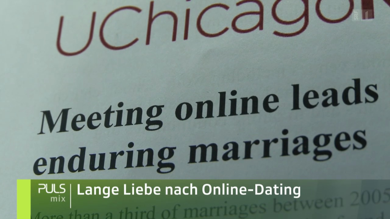Lange Liebe nach Online-Dating
