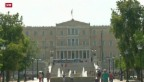 Video «Dringlichkeitssitzung in Griechenland» abspielen