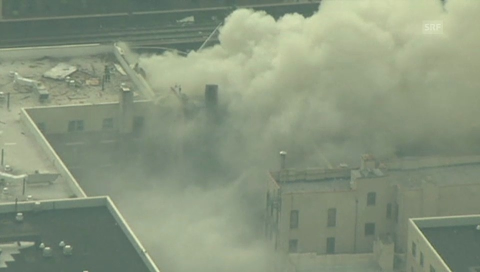 Hausexplosion in New York
