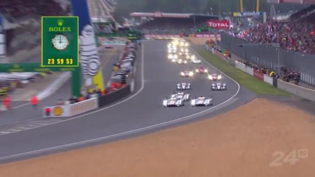 Video «Motorsport: 24 Stunden von Le Mans («sportpanorama»)» abspielen