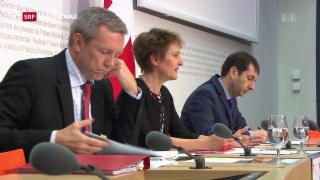 Video «Bundesrat hält an Frauenquote fest» abspielen