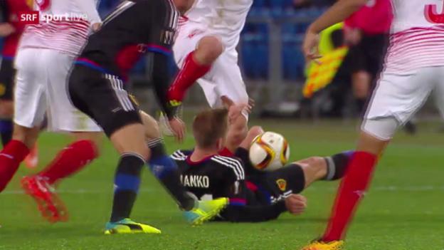 Video «Zusammenfassung Basel - Sevilla» abspielen