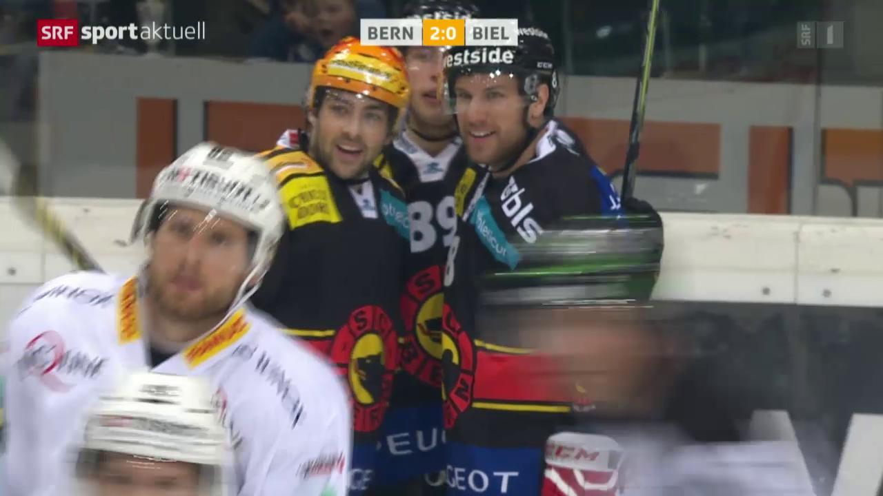 Eishockey: NLA, Bern - Biel