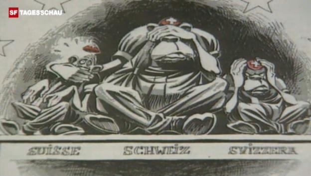 Video «Die Romandie nach dem EWR-Nein (Tagesschau, 7.12.1992)» abspielen