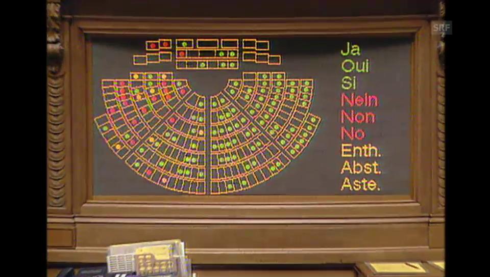 45. Legislatur: Auch Nationalrat stimmt der Heroinabgabe zu