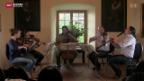 Video «Mozarts Geige auf Schloss Brunegg» abspielen