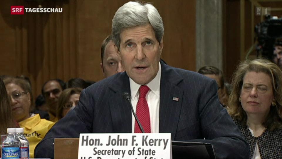 John Kerry verschärft Ton gegenüber Moskau