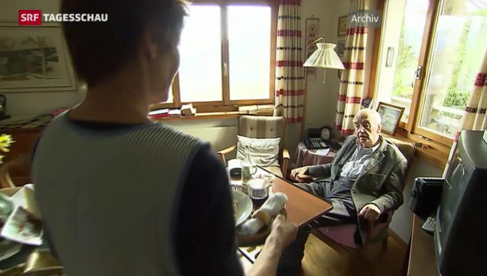 Zuhause alt werden liegt im Trend