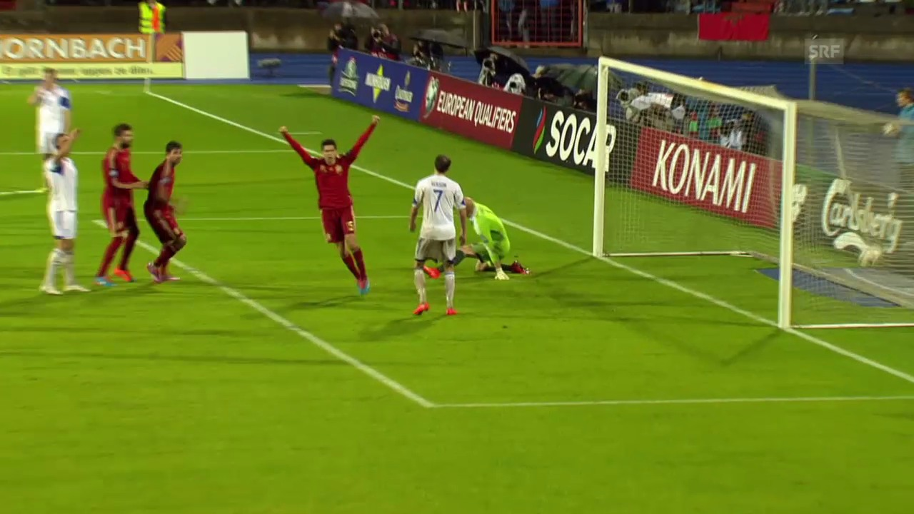 Fussball: EM-Quali, Luxemburg - Spanien
