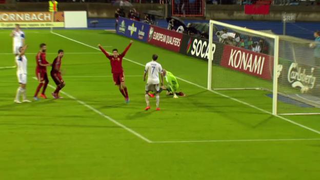 Video «Fussball: EM-Quali, Luxemburg - Spanien» abspielen
