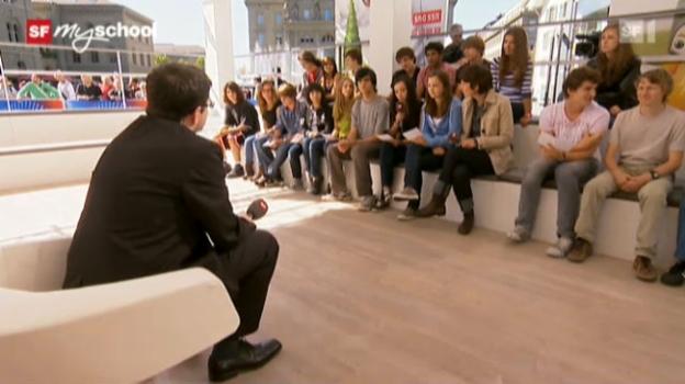 Video «Treffpunkt Bundesplatz: Live-Interview (3/11)» abspielen