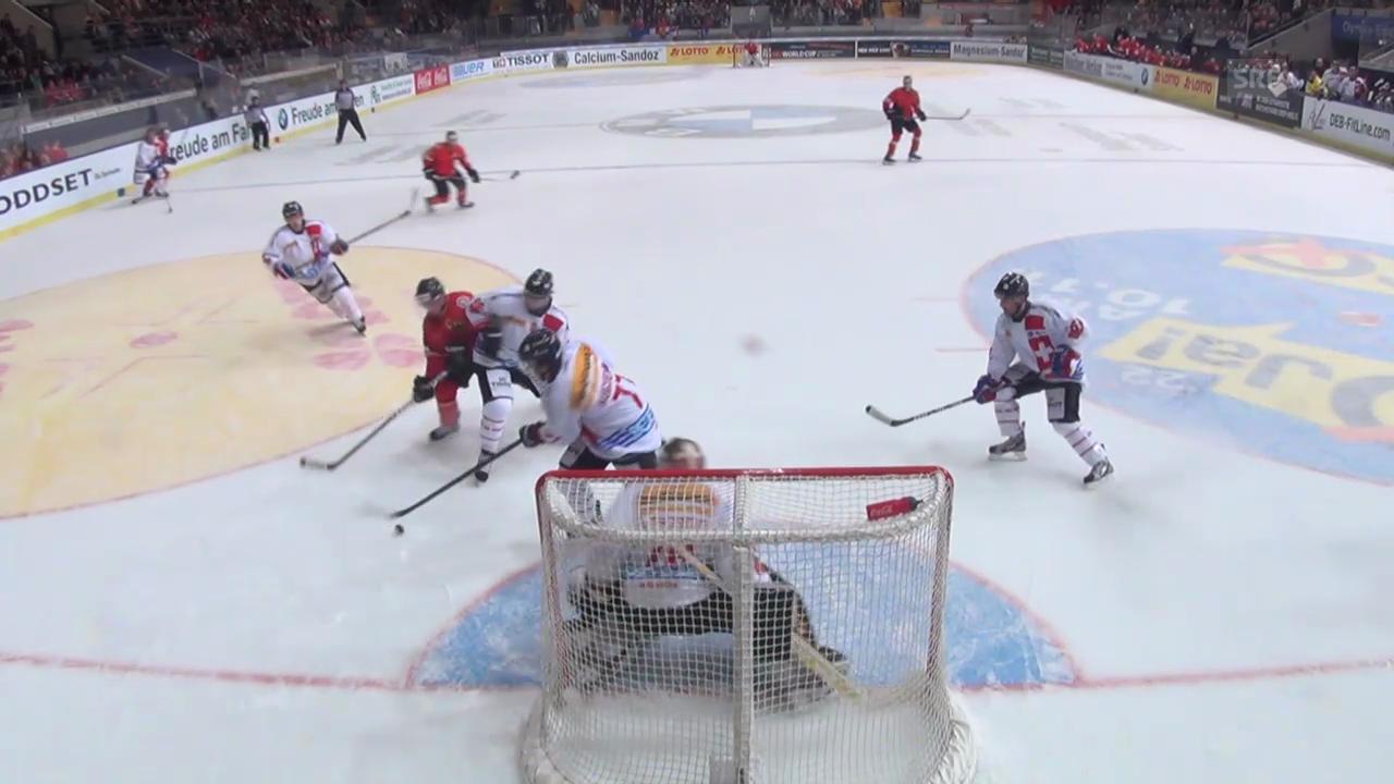 Eishockey: Deutschland - Schweiz