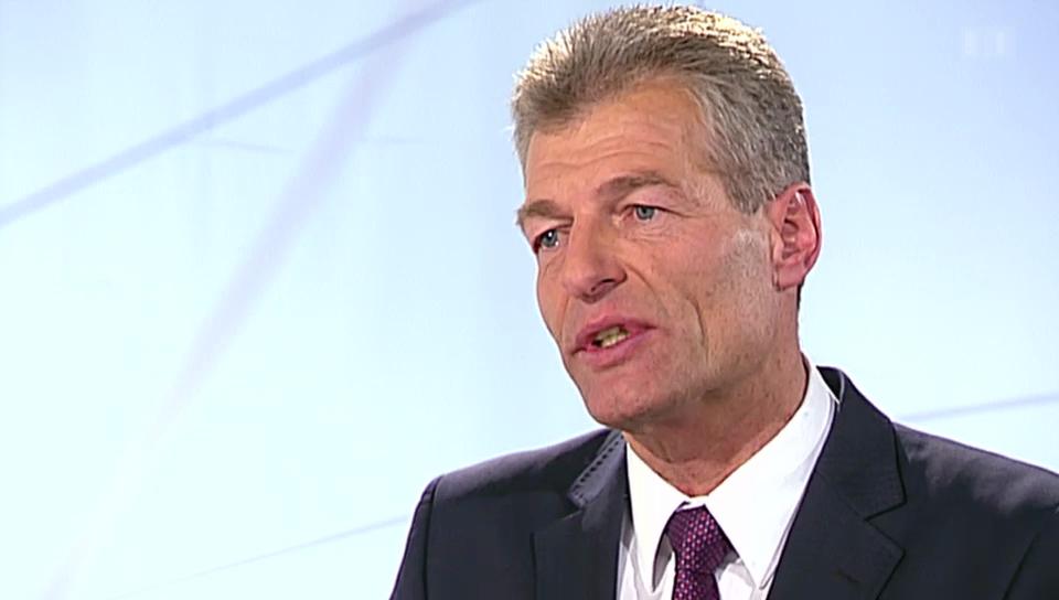 Studio: Economiesuisse-Präsident Heinz Karrer über die Niederlage