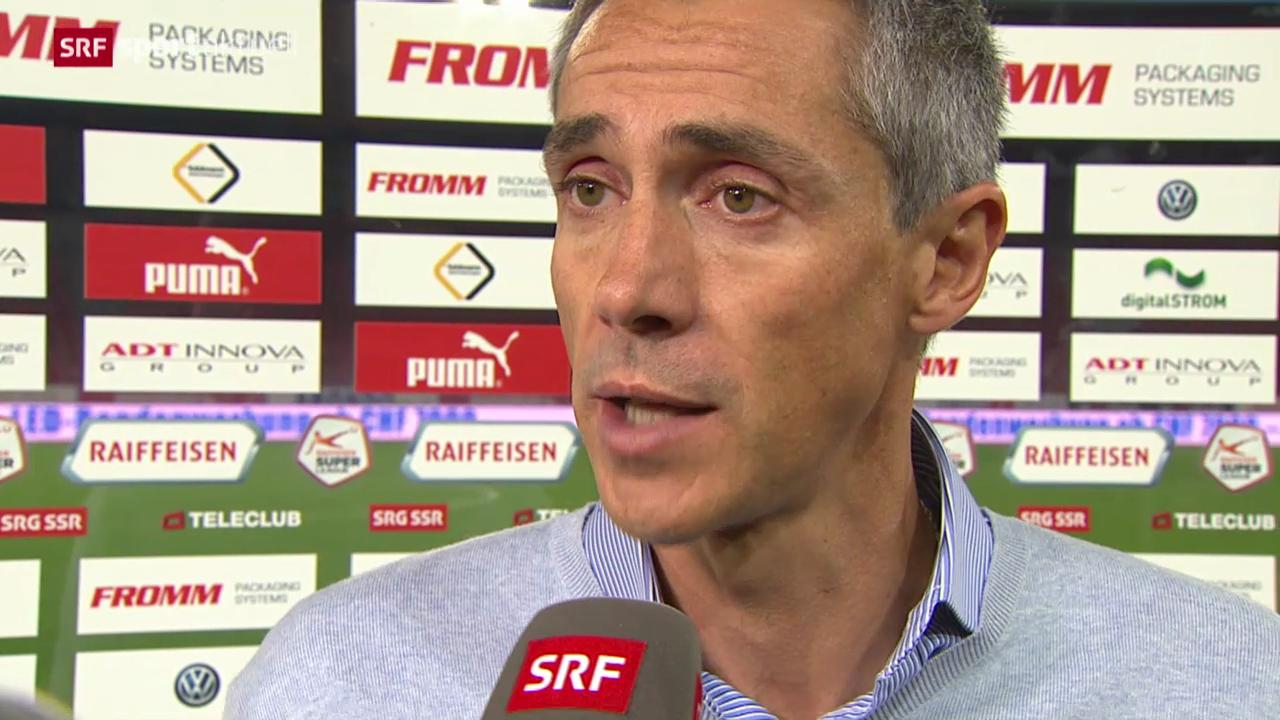 Fussball: Stimmen zu GC - Basel