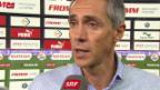Video «Fussball: Stimmen zu GC - Basel» abspielen
